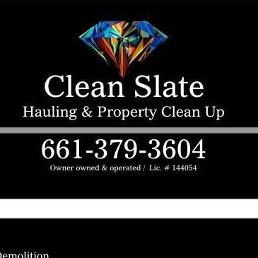 Clean Slate Junk Removal,demo & Property Clean Up