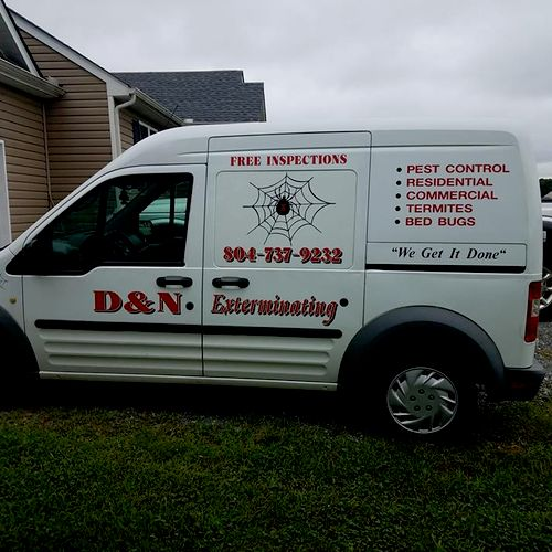 One of our vans.