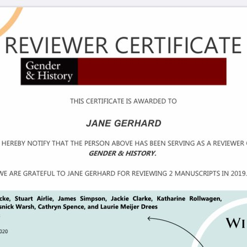 I am regularly asked to review journal articles