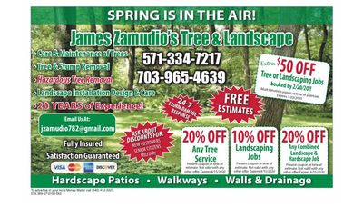 Avatar for James Zamudio's Tree and Landscape Culpeper, VA Thumbtack