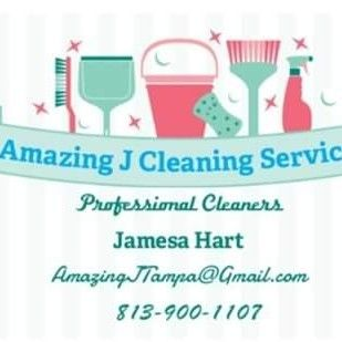 Amazing J's Cleaning Services.