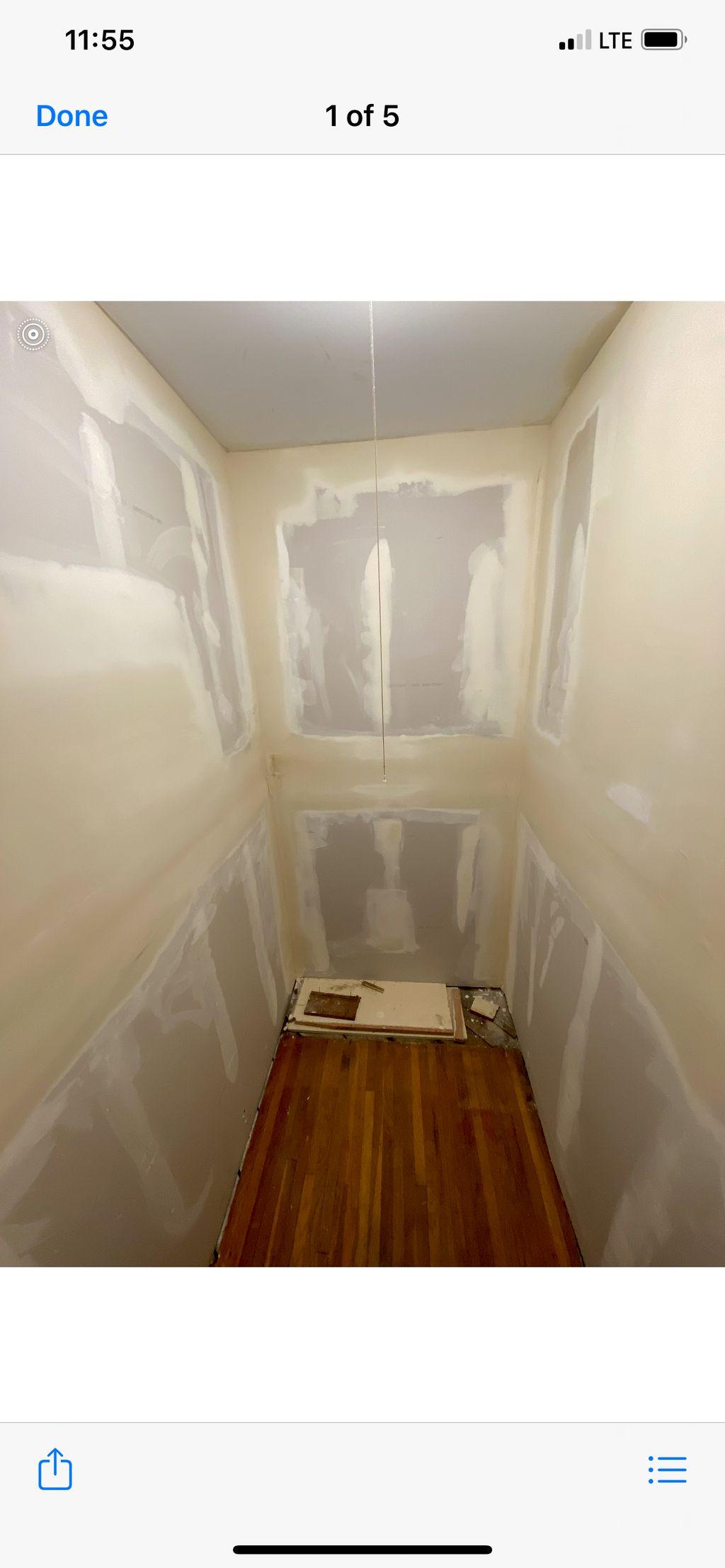 Closet Resurface