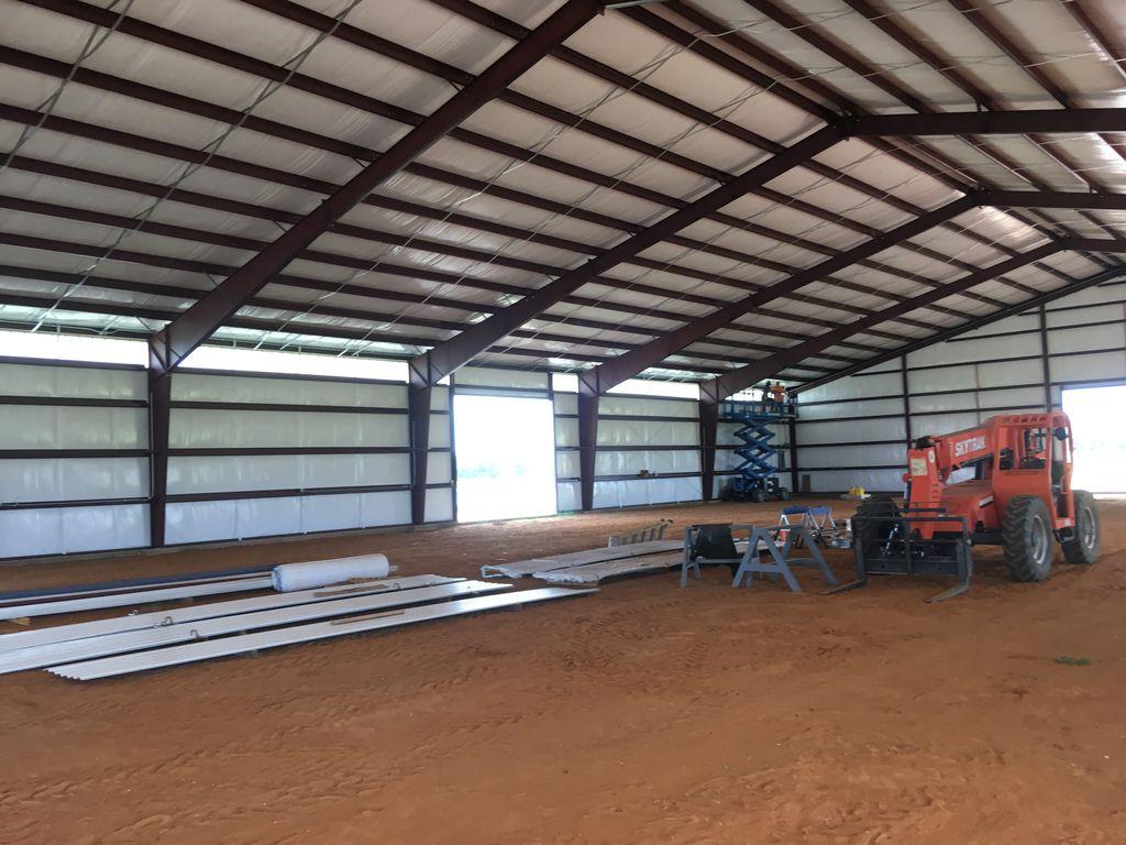 Indoor Training Facility Installation
