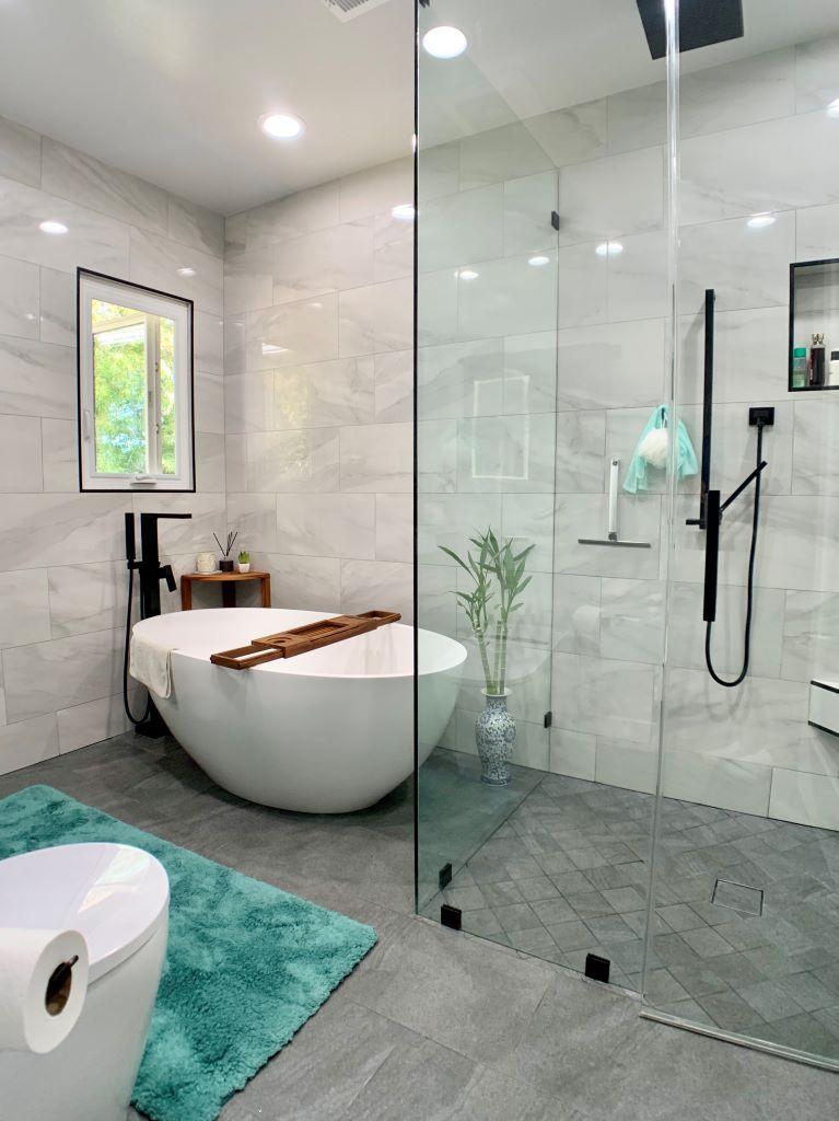 Master Bathroom Remodel Pasadena