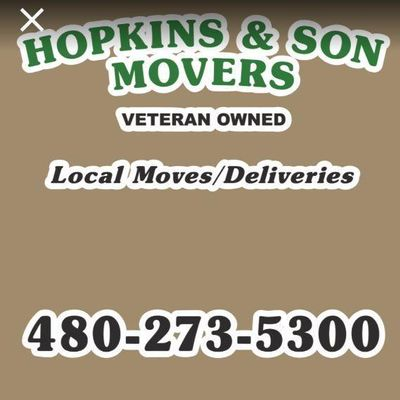 Avatar for Hopkins & Son Movers LLC Chandler, AZ Thumbtack