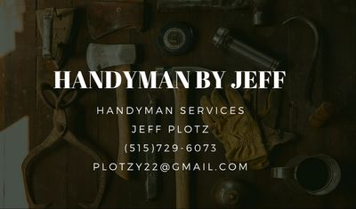 Avatar for Handyman by Jeff Urbandale, IA Thumbtack