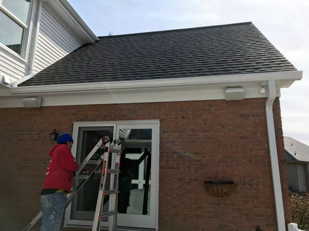 Gutter Replacement with gutter guards