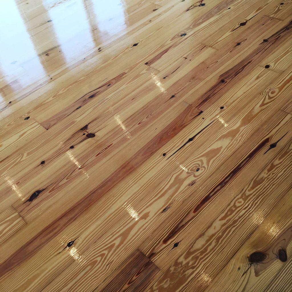 Water damaged hardwood repair