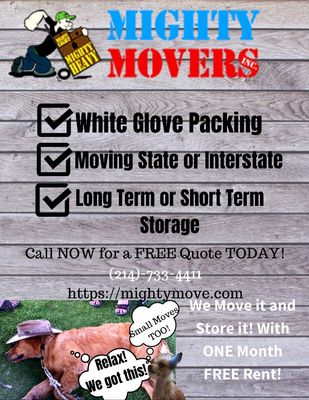 Avatar for Mighty Movers Dallas, TX Thumbtack
