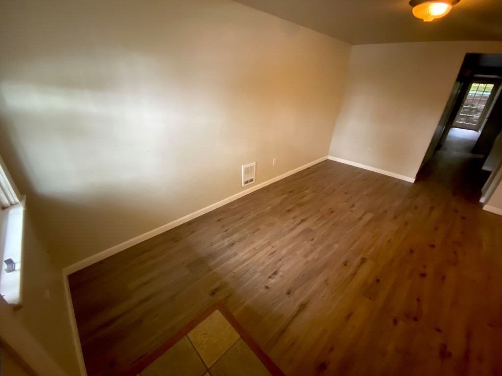Water damage mitigation and new flooring