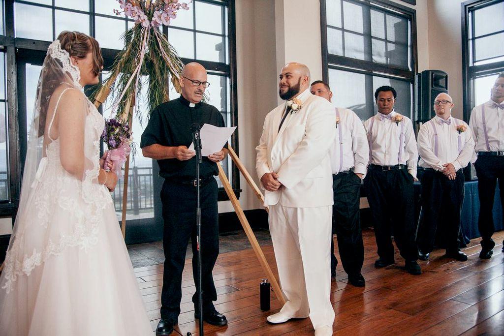 Native American-Polynesian Mixed Wedding