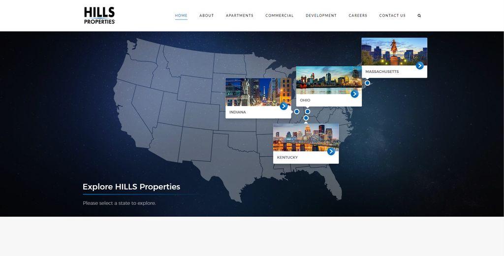 Web Design - Hills Properties