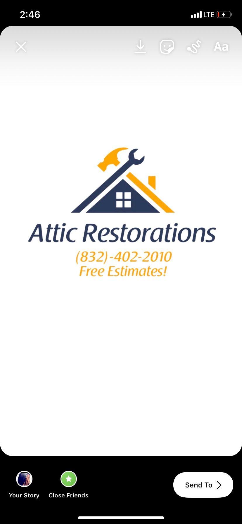 Attic Restorations