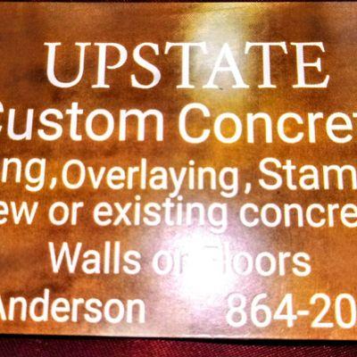 Avatar for Upstate Custom Concrete Clinton, SC Thumbtack