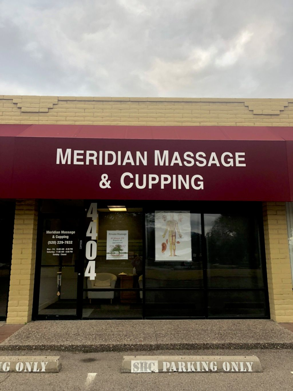 Meridian massage &Cupping