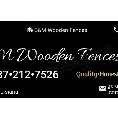 Avatar for G&M Wooden Fences Lafayette, LA Thumbtack