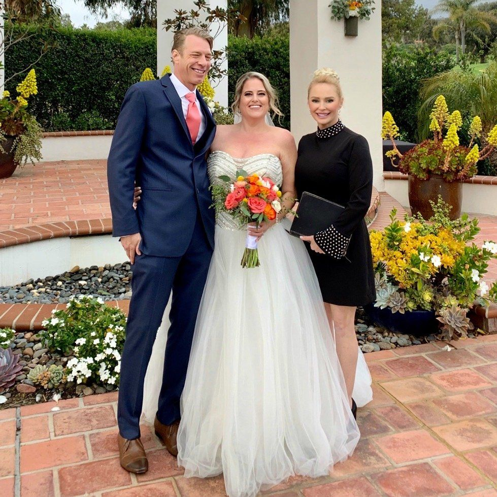 Wedding Officiant - San Clemente 2020