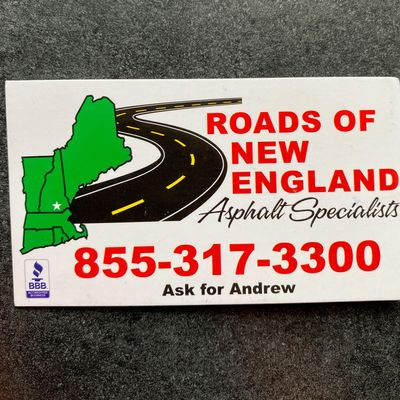 Avatar for Raods of New England Manchester, NH Thumbtack
