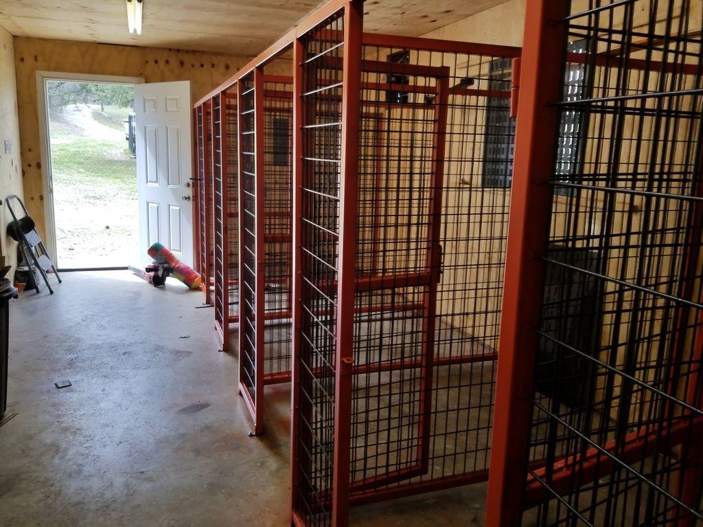 New Indoor Kennels