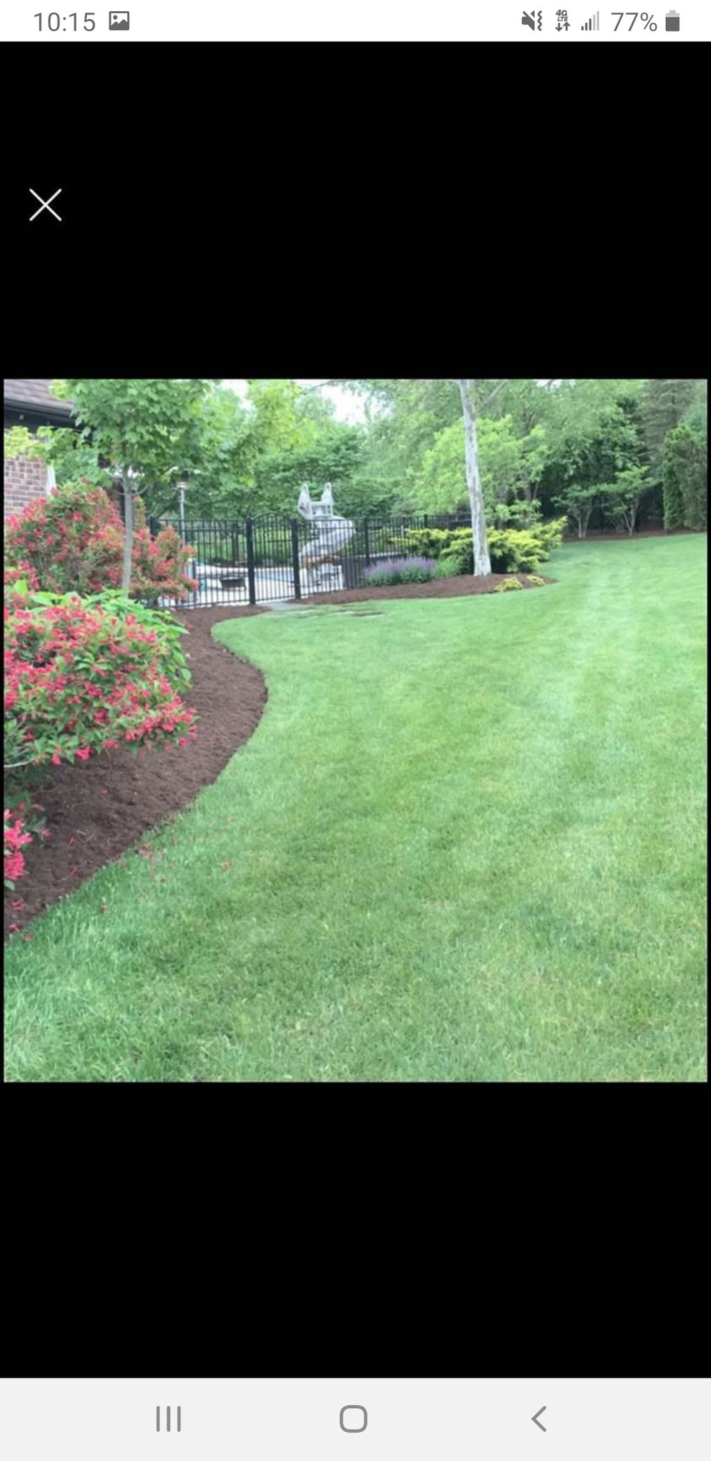 Retaining Walls ---  Mulch