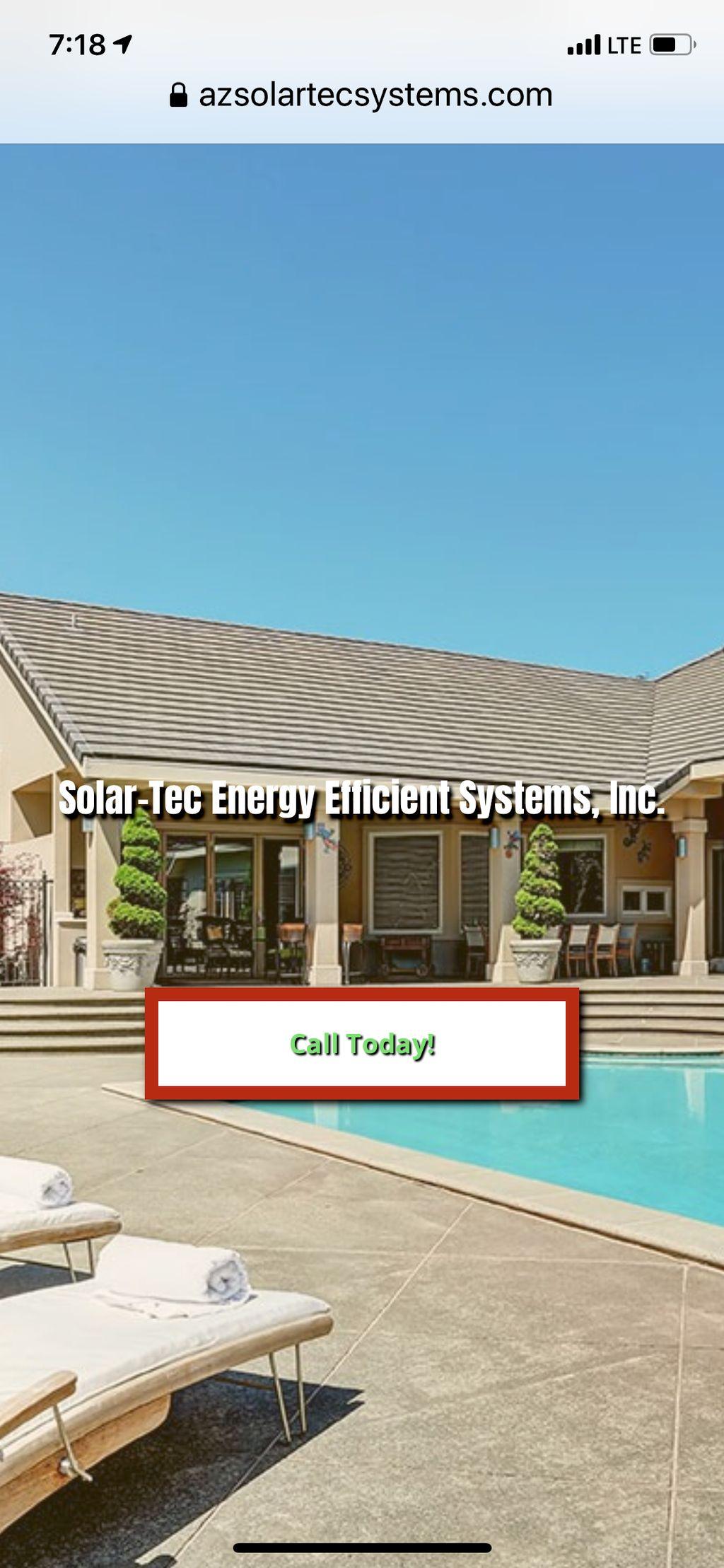 SOLAR TEC 'Energy Efficient Systems'
