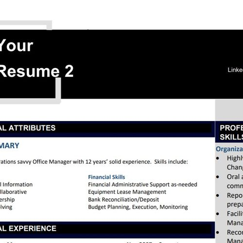 Your Resume 2
