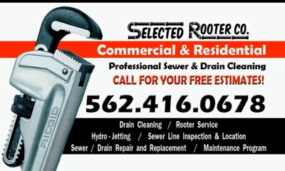 Avatar for SELECTED ROOTER•PLUMBING Norwalk, CA Thumbtack