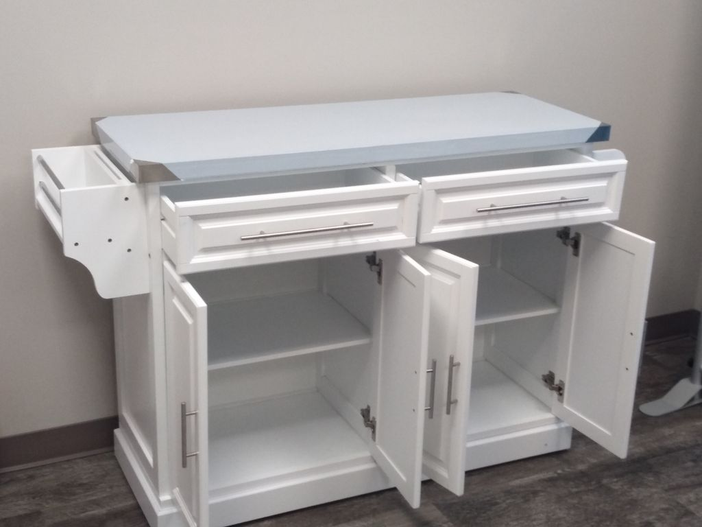 New office furniture assembly