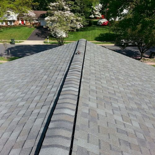 Brand new roofing