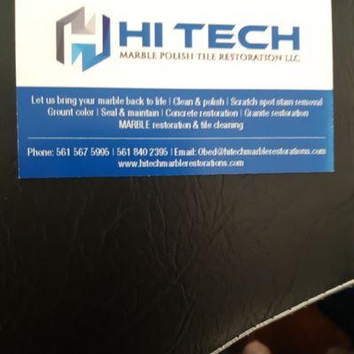 Avatar for Hitech marble polish tile restoration llc West Palm Beach, FL Thumbtack
