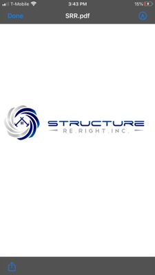 Avatar for Structure Re-Right Inc.