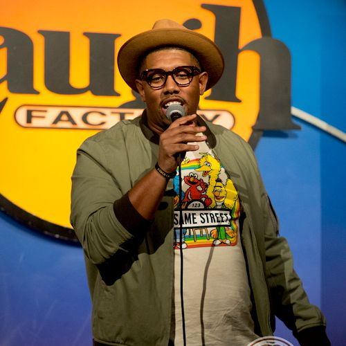Live at the Laugh Factory in Hollywood, California