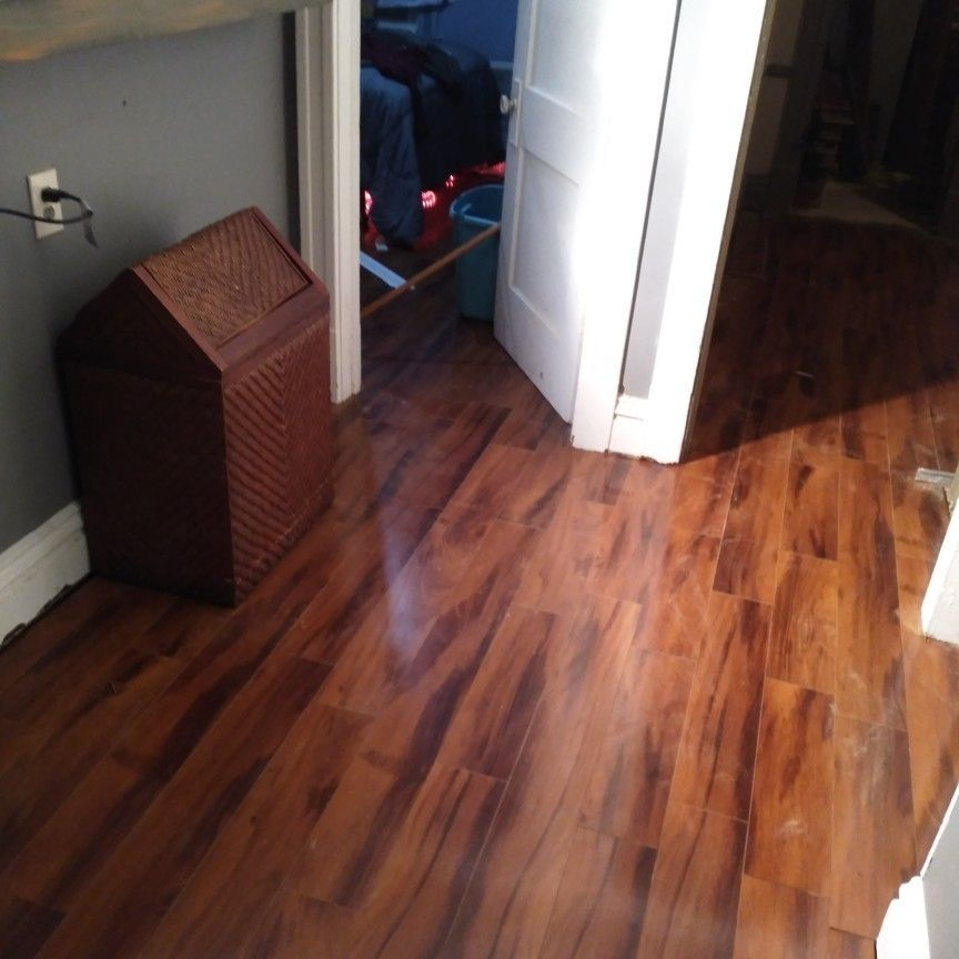 ACTUAL FLOORING AND REMOD.