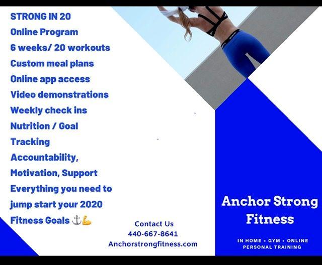 Strong in 20 online training program