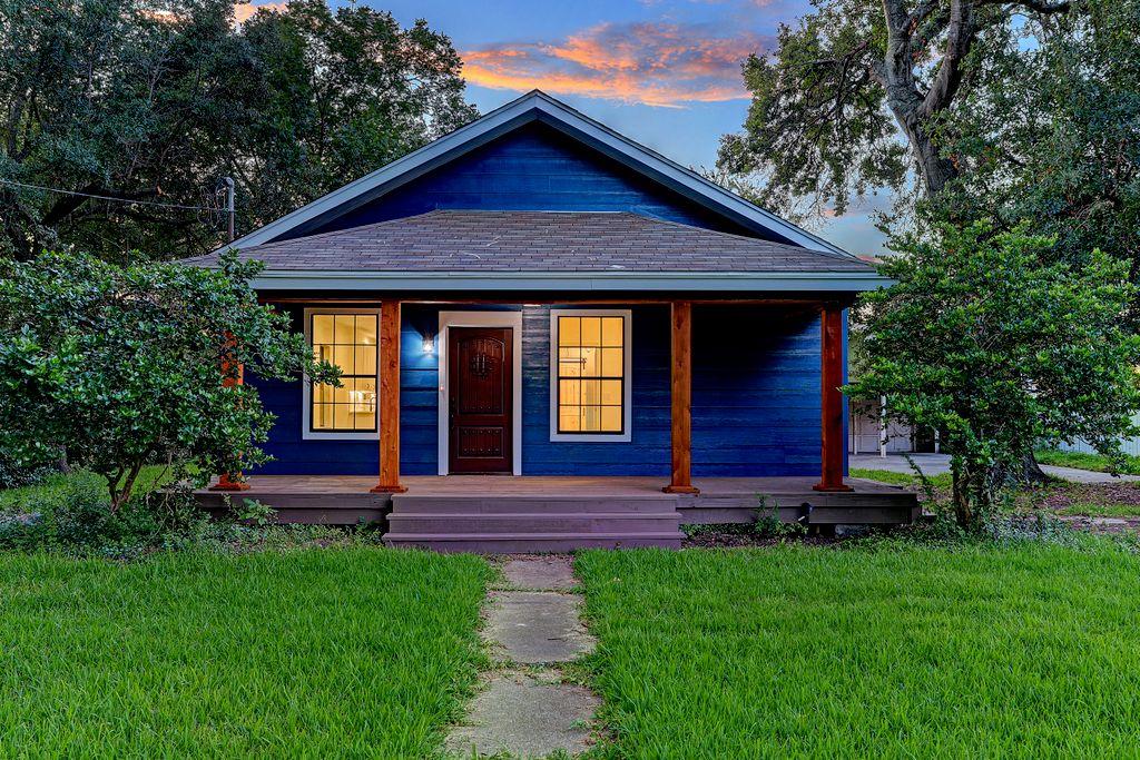 Beautiful Blue Home Remodel