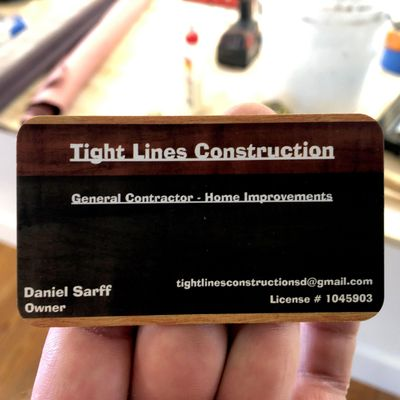 Avatar for Tight Lines Construction Lakeside, CA Thumbtack