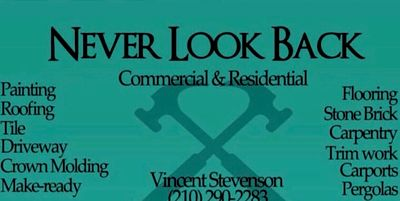 Avatar for Never Look Back Construction San Antonio, TX Thumbtack