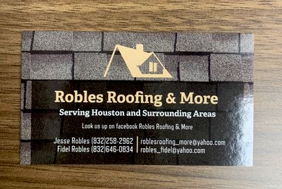 Avatar for Robles Roofing & More Houston, TX Thumbtack