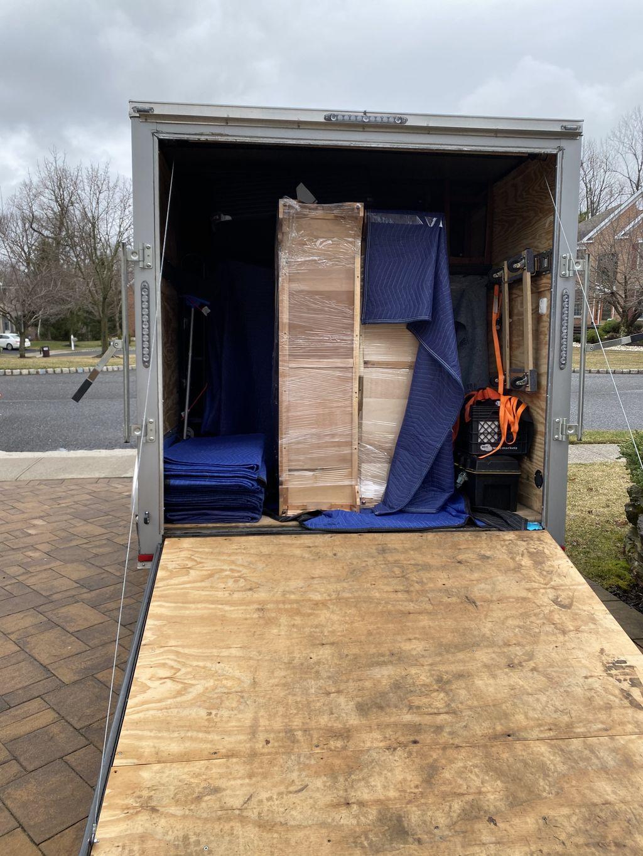 Two 16 ft trailer loads