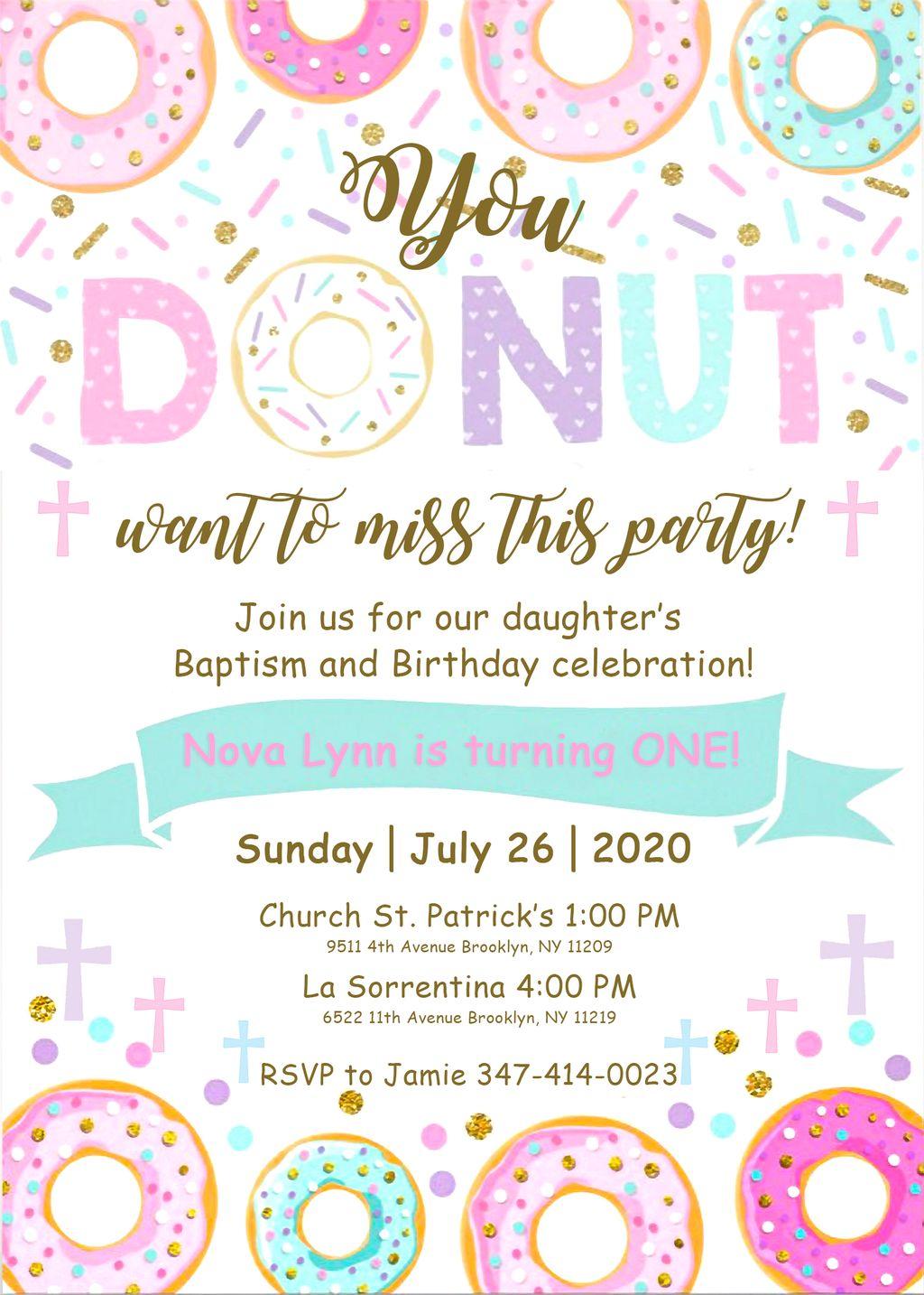 Invitations and printing