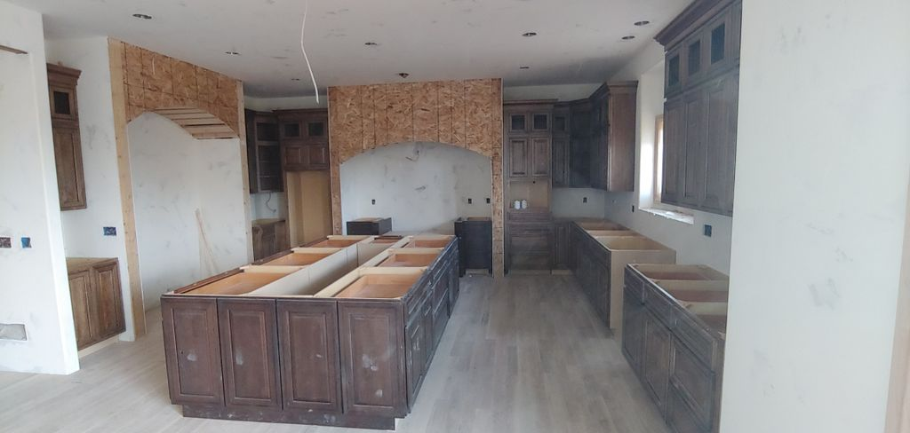 Beautiful cabinet install on march 17th