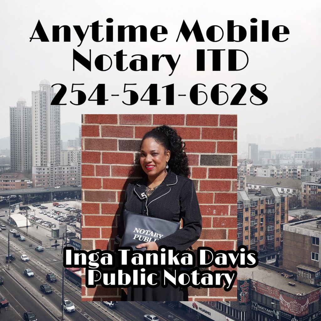 Anytime Mobile Notary ITD
