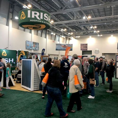 Busy at the Home & Garden Show
