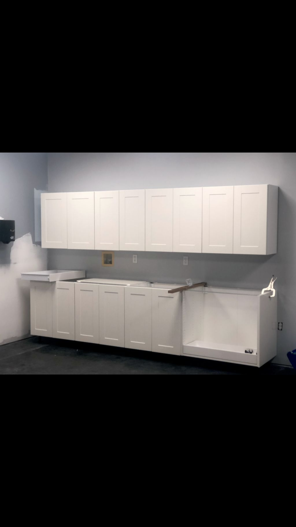 IKEA cabinet assembly