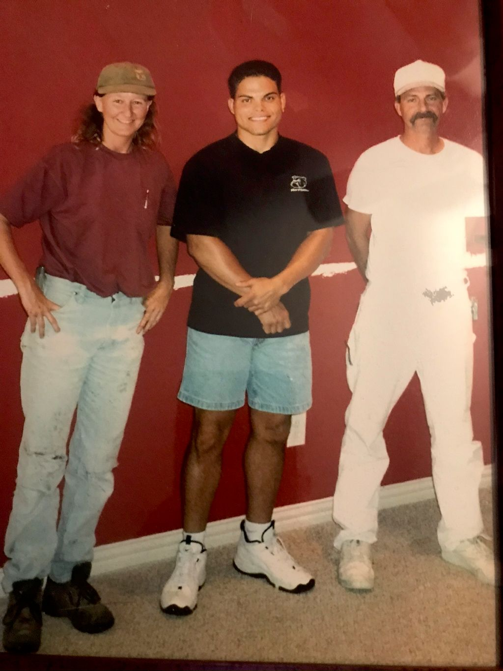Ranger red in Pudge Rodriguez home