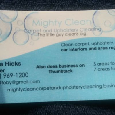 Avatar for Mighty Clean carpet and upholstery Cleves, OH Thumbtack