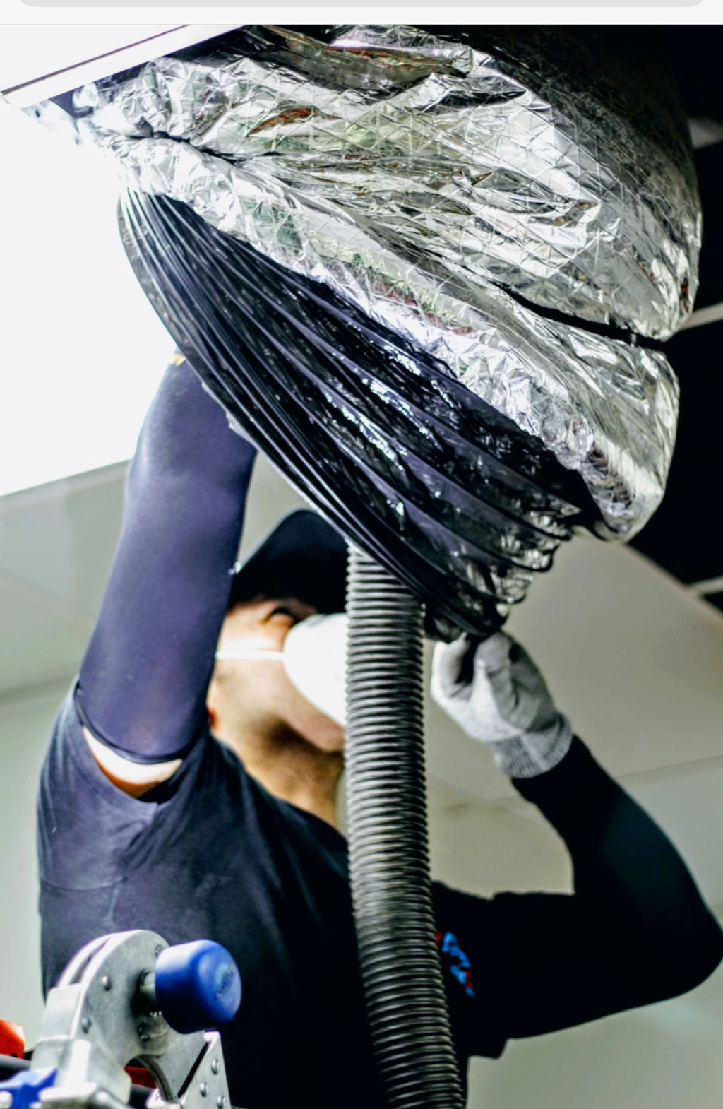 Antibacterial sanitizing  Deep Air Duct Cleaning