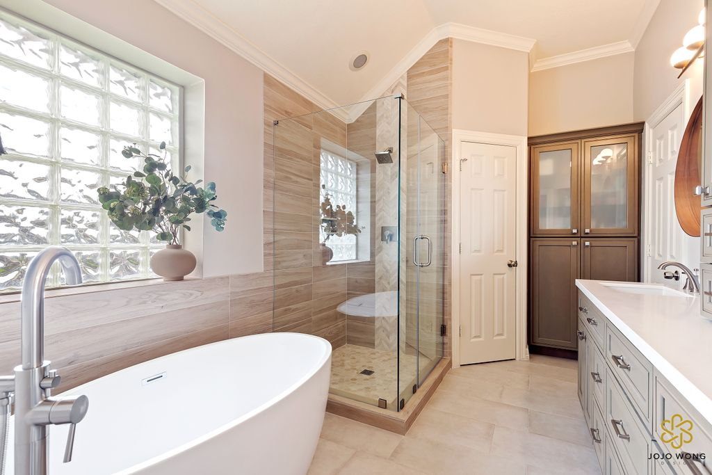 Spa-Like Master Bath Remodel
