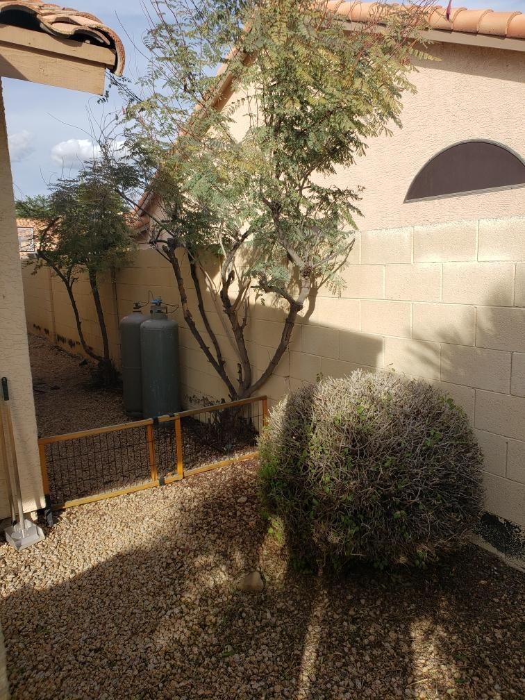 Outdoor patio renovation