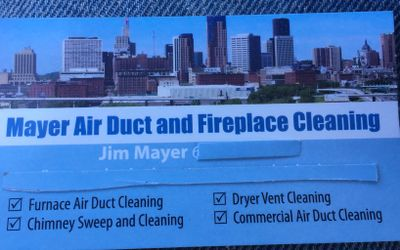 Avatar for Mayer  air duct and Fireplace cleaning